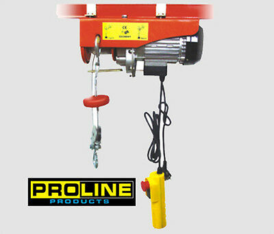 Engine 440lb Electric Motor Overhead Garage Hoist Crane Lift Wemergency Stop