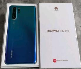 Huawei p30 Pro like new & unlocked