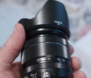 Fuji 18-55mm zoom - one of Fujis' best lenses ever - warranty