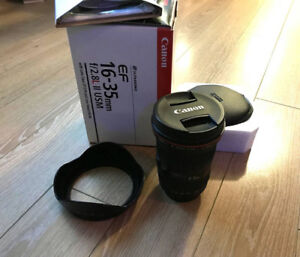 Canon EF 16-35mm f2.8L II USM - EXCELLENT-MINT CONDITION