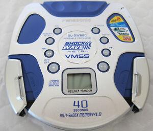 PANASONIC SL-SW880 WALKMAN DISCMAN METAL PORTABLE CD PLAYER