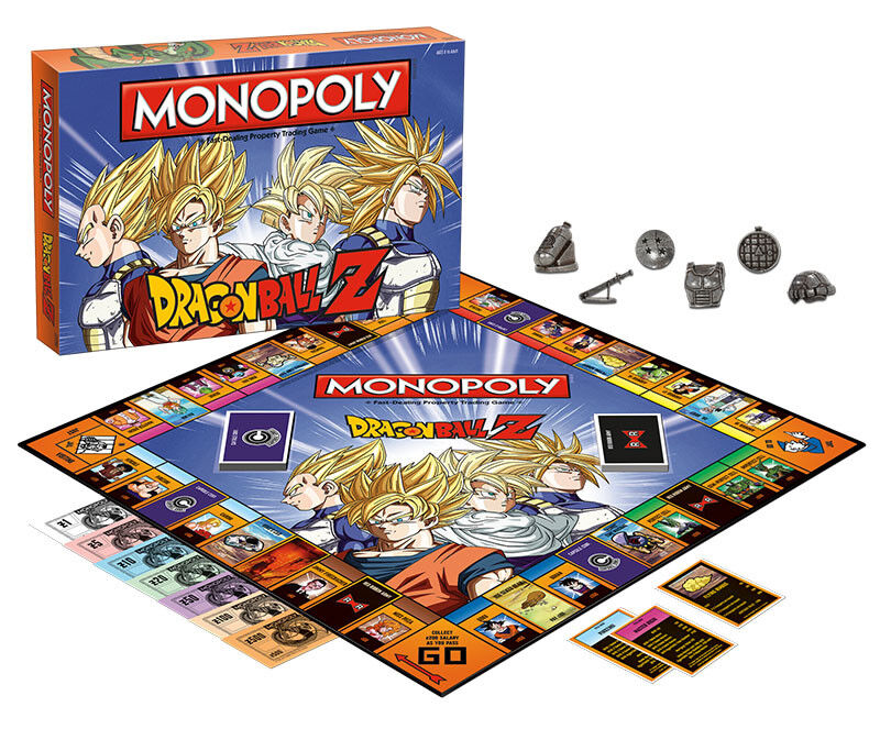 USAopoly MONOPOLY® Call Of Duty, IT, Guardians of The Galaxy, Warhammer  ... DragonBallZ