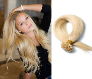 Double Drawn Remy 1g/strd UTip Pre-bonded Fusion Hair Extensions