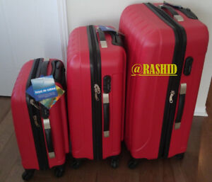 set de 3 valisses neuf / ensemble de 3 valisses luggage suit
