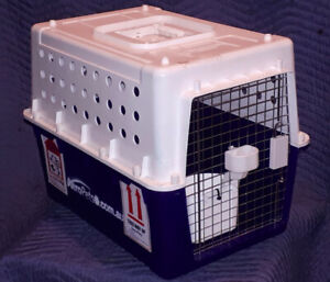 Medium sized airline pet kennel