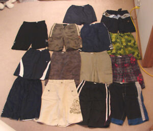 Shorts, Swim Trunks, Shirts, Jeans, Jackets - 14, 16, men's S, M