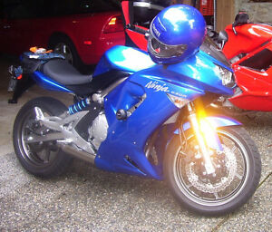 Kawasaki Ninja 650R for sale.