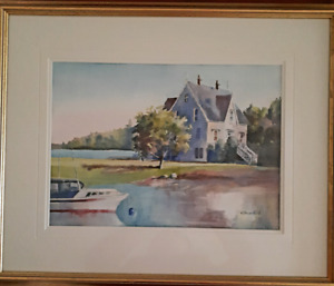 Local Artist Original  Watercolor  Painting