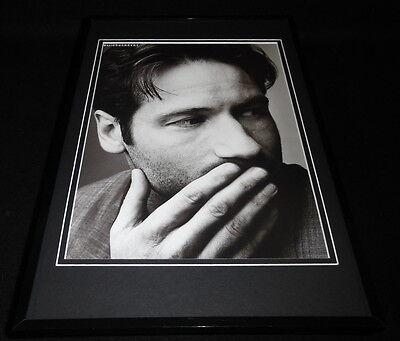 David Duchovny 1999 Framed 11x17 Photo Poster Display X Files