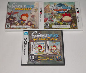 Scribblenauts UNMASKED UNLIMITED COLLECTION Nintendo 3DS DS Game
