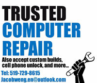 KW's Trusted Computer Repair Service - Fix All Problems