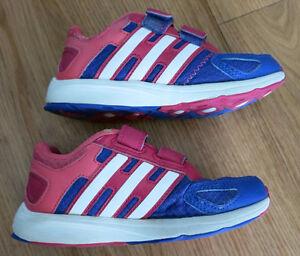 Girls Indoor Addidas Running shoes Size 11