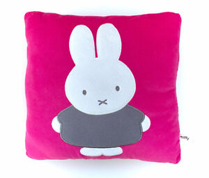 RARE Miffy Bunny Deocrative Pillow Plush Pink My Melody Sanrio