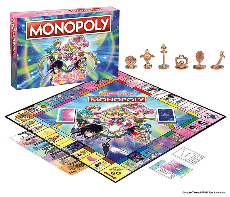 USAopoly MONOPOLY® Call Of Duty, IT, Guardians of The Galaxy, Warhammer  ... SailorMoon