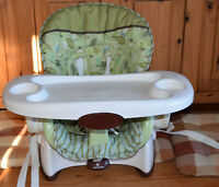 Fisher-Price Space-Saver High Chair and Booster Scatterbugs