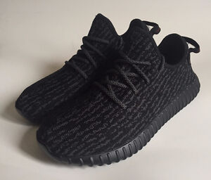 Yeezy 350 Boost Pirate Black Size 7 NEW