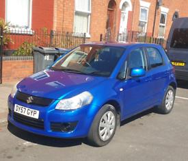 Suzuki XS4 2007 blue petrol