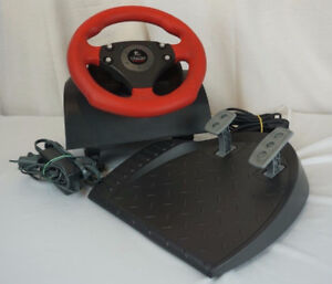Logitech Wingman Formula Force Steering Wheel and Pedals