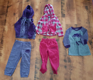 Toddler girl Roots outfits - size 2t