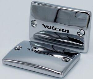2003-2008 Kawasaki Vulcan VN 1600 Classic Nomad Mean Streak CHROME FLUID CAPS