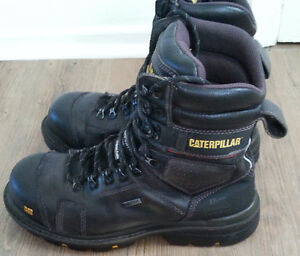 Work boots, Caterpillar Hauler, 150$ wow!