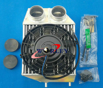 "5"" side mount aluminum intercooler + FAN for Renault Super 5 R5 GT turbo 85-1991 for sale  San Bernardino"