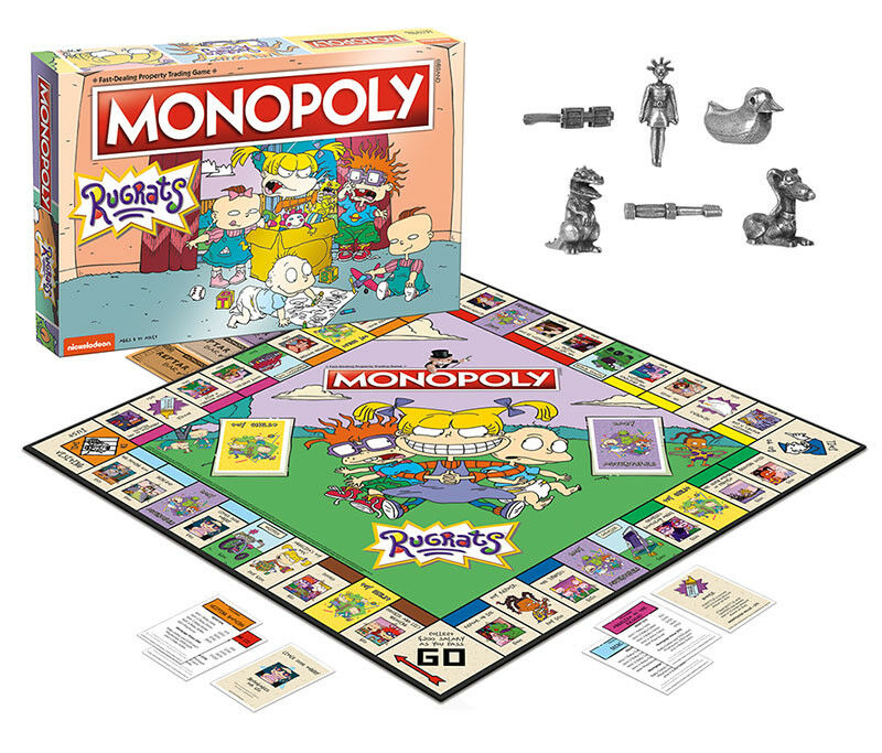 USAopoly MONOPOLY® Call Of Duty, IT, Guardians of The Galaxy, Warhammer  ... Rugrats