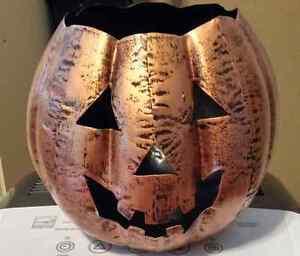 Pumpkin made of metal