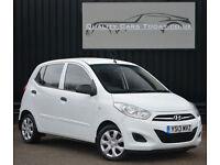 2013 Hyundai i10 1.2 ( 85bhp ) Classic White *Hyundai Warranty+Finance+Delivery*