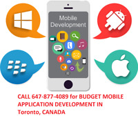 iOS and Android Mobile application for your business - Start Now