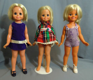 VINTAGE DOLLS CRISSY FAMILY DINA LOOK AROUND VELVET