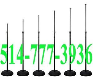 Micro Microphone Pied Stand Pro DJ Scene Equipment Professionnel