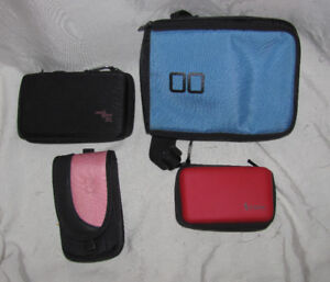 Nintendo DS cases $5 Each - DSi, DSXL - Soft, Fabric Cases