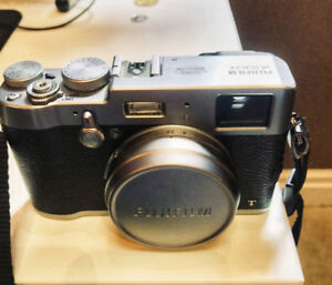 Fuji X100T - 7500 shutter count in mint condition.