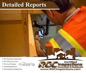Property Inspection Services - Incl Free Infrared - 780-570-5824 Edmonton Edmonton Area image 1