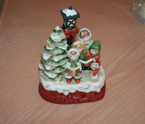 Musical Carolers Ceramic Ornament