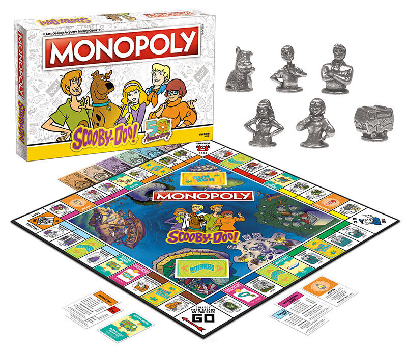 USAopoly MONOPOLY® Call Of Duty, IT, Guardians of The Galaxy, Warhammer  ... ScoobieDoo