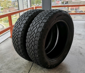 Set of two 205/55/16 & 205/65/15 winter tires