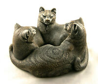 CAT CIRCLE CANDLE HOLDER - WINDSTONE, MELODY PENA