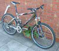 mountain bike in excellent condition 18 speed