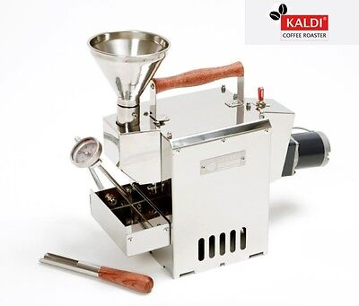Kaldi Coffee Bean Roaster Moter Operated For Home Small Cafe Diy Stainless Drum