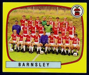 PANINI-FOOTBALL-88-406-BARNSLEY-TEAM-PHOTO