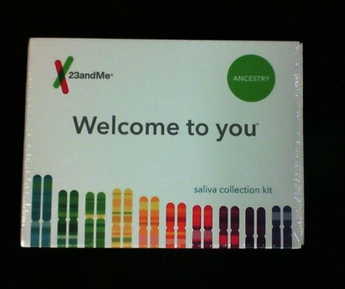 New 23andMe DNA Test Ancestry Saliva Collection Prepaid Kit Expires: 05/2021+