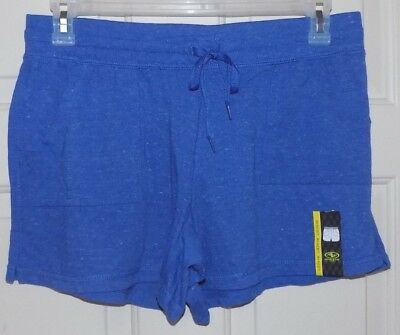 New Womens Knit Shorts front Pockets size XXL (20) Blue Heather Athletic Works   ()