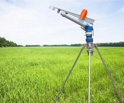 2 Alloy 360adjustable Impact Sprinkler Gun Water Irrigation Lawn Spray Gun Ax