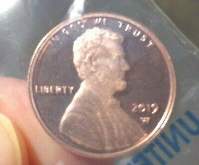 2019 W Lincoln Cent Penny Premium Proof Coin FIRST EVER  IN STOCK READY TO SHIP