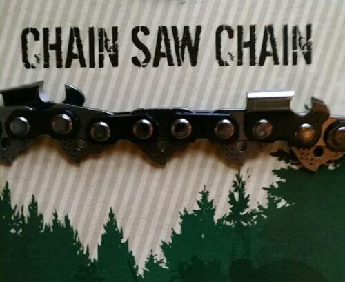 "2 Oregon 20/"" 75JGX072G Full Chisel Full Skip Tooth Chainsaw Chain 3//8 .063 72 DL"
