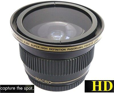 Used, Ultra Super HD Panoramic Fisheye Lens For Canon EOS M EF-M 22mm STM for sale  Bronx