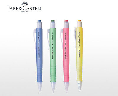 Faber-castell Poly Matic Mechanical Pencil Automatic 0.5mm Long Eraser Choose 1