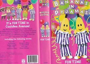 BANANAS IN PYJAMAS FUN  TIME  VHS VIDEO PAL~ A RARE FIND